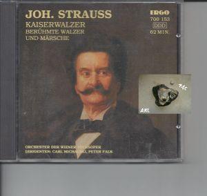 Johann Strauss, Kaiserwalzer, CD