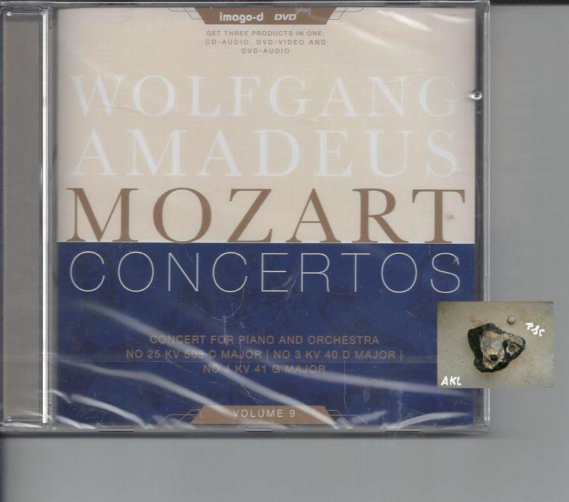 Wolfgang Amadeus Mozart, Concertos, Vol 9, CD