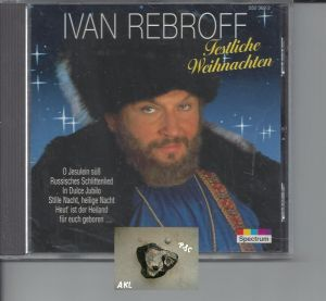 Ivan Rebroff, Festliche Weihnachten, Spectrum, CD