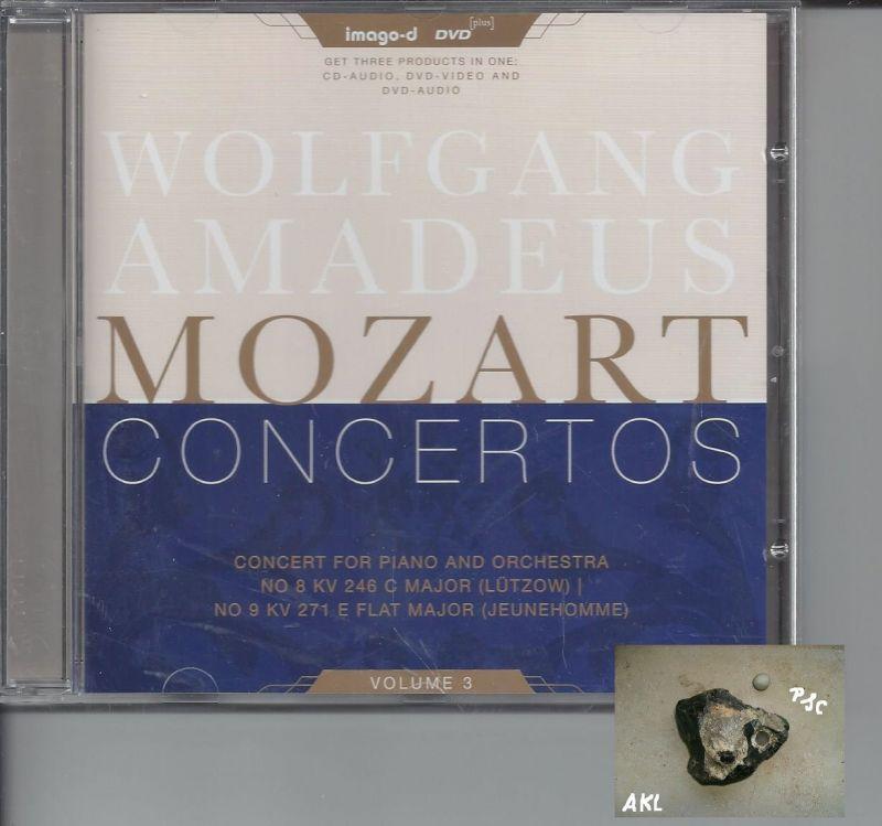 Wolfgang Amadeus Mozart, Concertos, Vol 3, CD