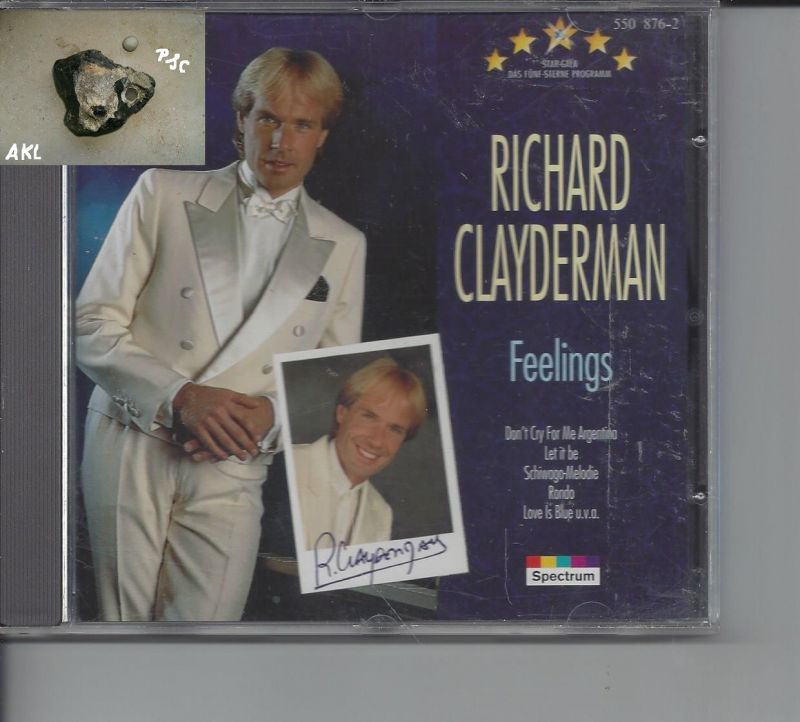 Richard Clayderman, Feelings, CD