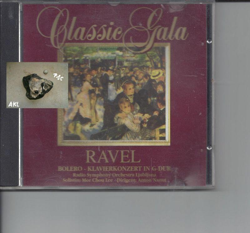 Classic Gala, Ravel, Bolero, Klavierkonzert in G-Dur, CD