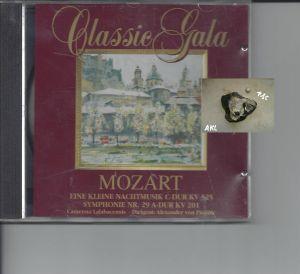 Classic Gala, Mozart, Eine kleine Nachtmusik C-Dur KV 525, CD