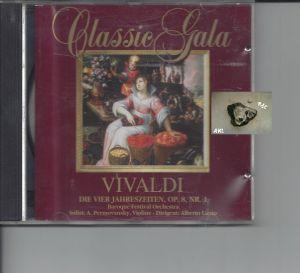 Classic Gala, Vivaldi, Die vier Jahreszeiten, Op. 8 Nr. 1, CD