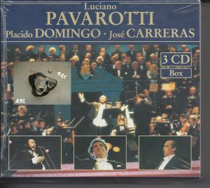 Luciano Pavarotti, Placido Domingo, Jose Carreras, CD