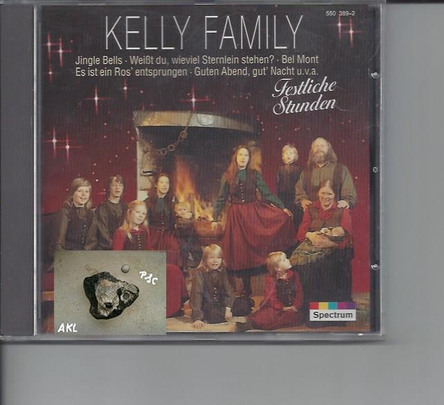 Kelly Family, Festliche Stunden, Spectrum, CD