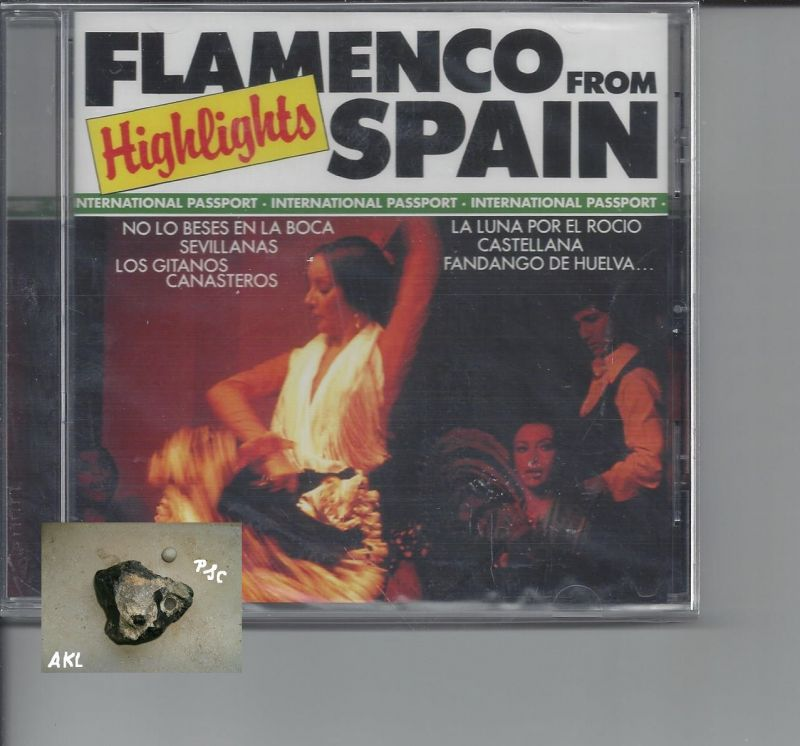 Flamenco from spain, Highlights, CD