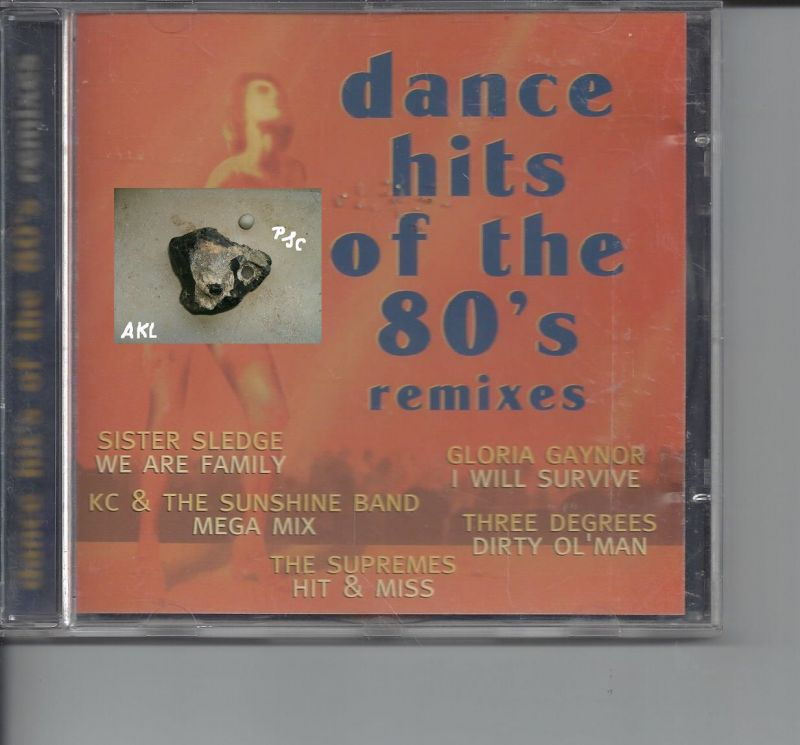 dance hits of the 80´s remixes, CD