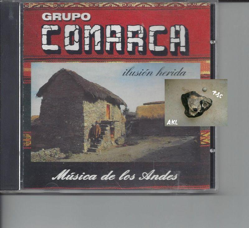 Grupo Comarch, ilusion herida, Musica de los Andes, CD