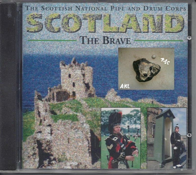 Scotland, The Brave, CD