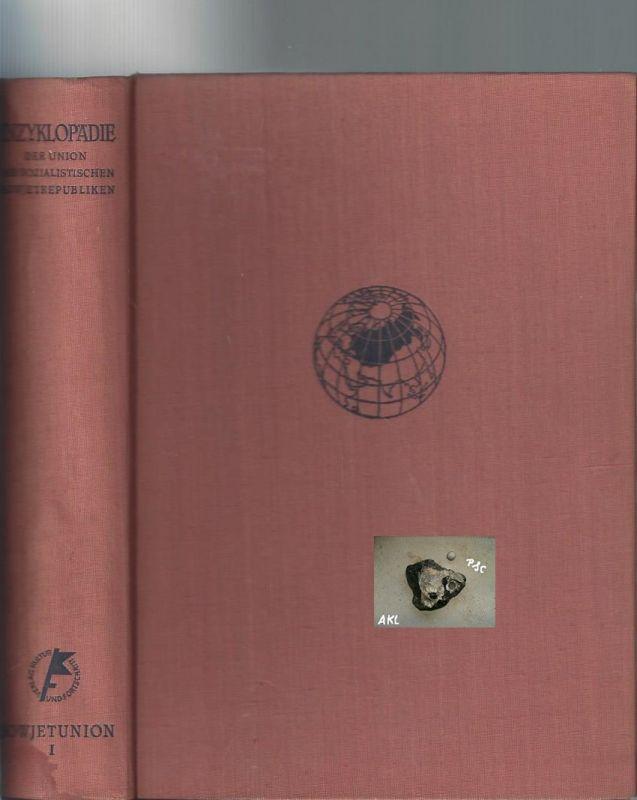 Enzyklopädie der Union der sozialistischen Sowjetrepubliken, B 1+2 **