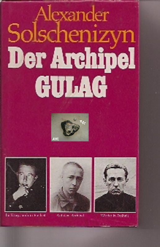 Der Archipel Gulag, Solschenizyn