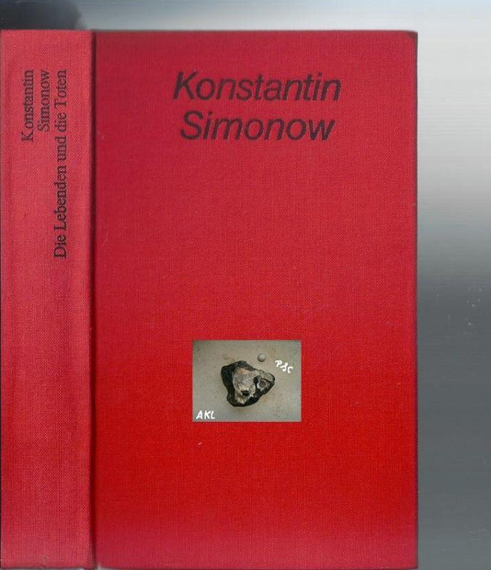 Die Lebenden und die Toten, Simonow Konstantin, Leinen