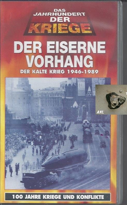 Der eiserne Vorhang, Der kalte Krieg 1946-1989, VHS