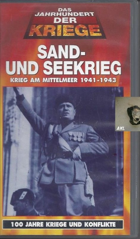Sand und Seekrieg, Krieg im Mittelmeer, VHS