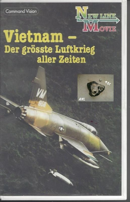 Vietnam, der grösste Luftkrieg aller Zeiten, VHS