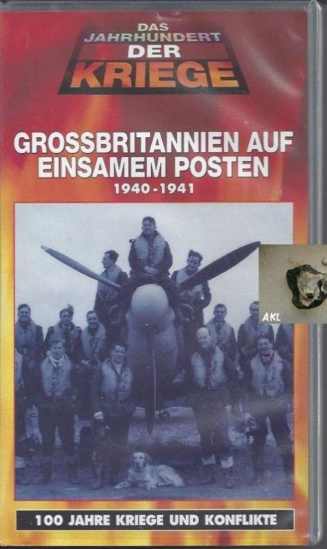 Grossbritannien auf einsamen Posten, 1940-1941, Dokufilm, VHS