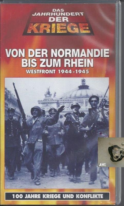 Von der Normandie bis zum Rhein, Westfront, Dokumentationsfilm, VHS