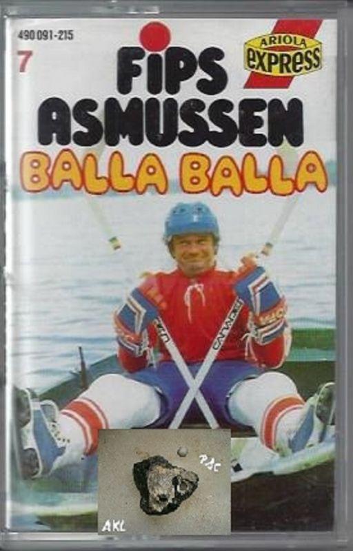 Fips Asmussen, Balla Balla, Ariola Express, MC, Kassette **