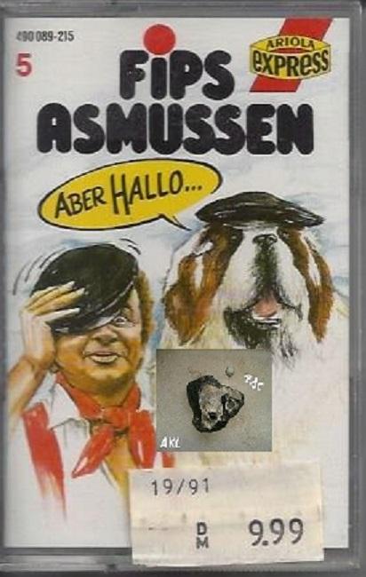 Fips Asmussen, Aber Hallo, MC, Kassette **
