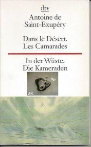 In der Wüste, Die Kameraden, französisch, zweisprachig, dtv