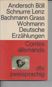 Contes allemands, französisch deutsch, zweisprachig, dtv