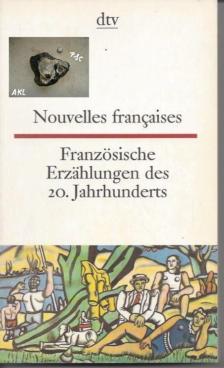 Französische Erzählungen des 20. Jahrhunderts, französisch, dtv