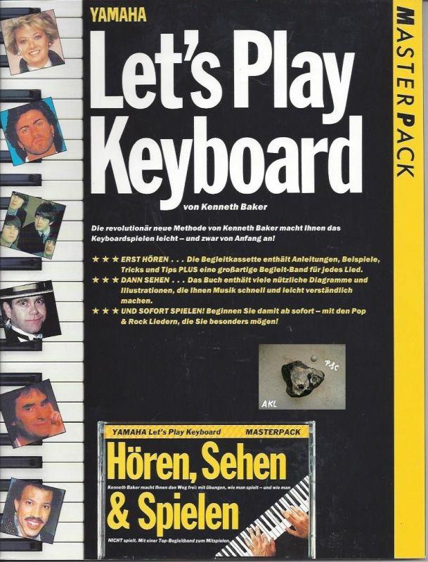Lets play Keyboard, Masterpack, yamaha mit Kassette, MC