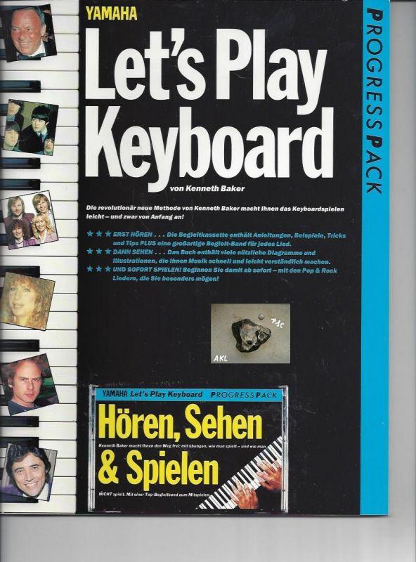Lets play Keyboard, Progresspack, yamaha mit Kassette, MC