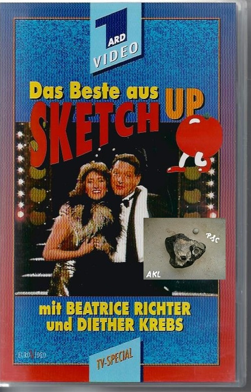 Das Beste aus Sketch up, Diether Krebs, Beatrice Richter, VHS