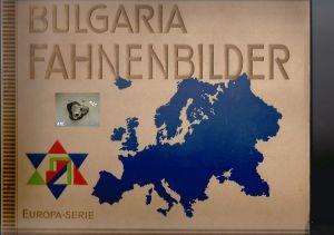 Bulgaria Fahnenbilder, Europa-Serie, komplett *