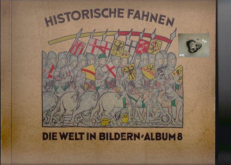 Die Welt in Bildern, Album 8, Historische Fahnen, komplett *