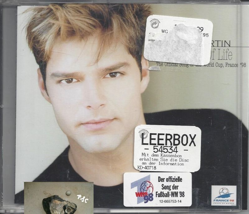 Single - CD: Ricky Martin, 4 Trucks