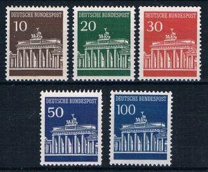 BRD 1966 M.Nr.506-510 xx