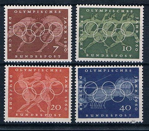 Sportmarken BRD 1960 **