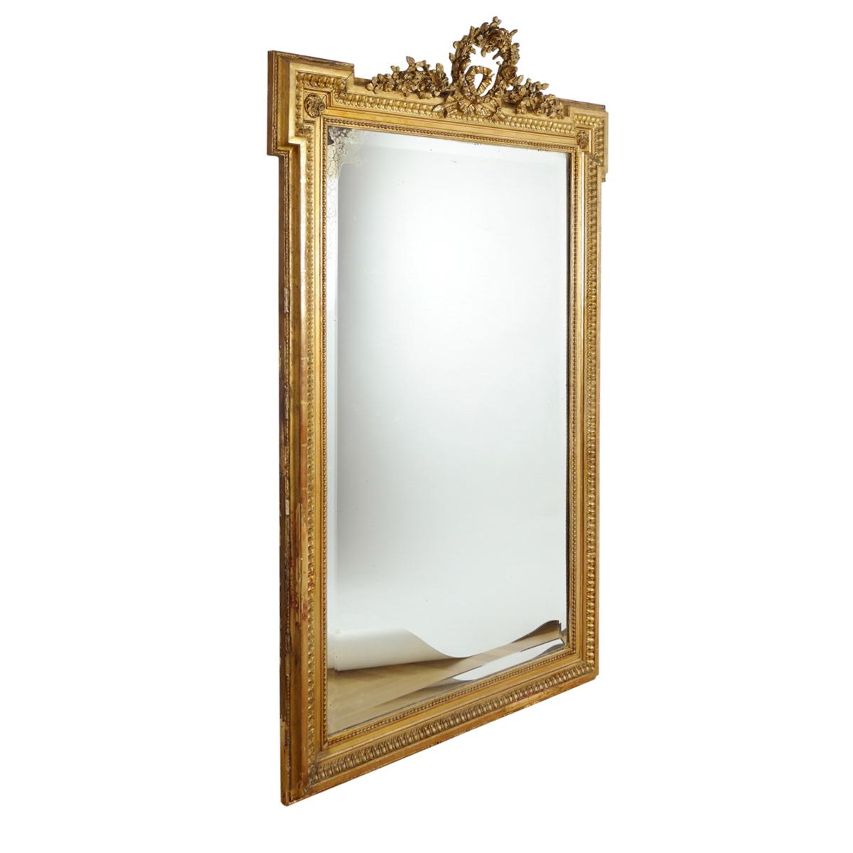 18. Jahrhundert Französischer Louis-Seize Spiegel 0