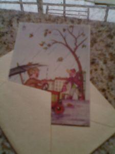 Alte Kinderpostkarte
