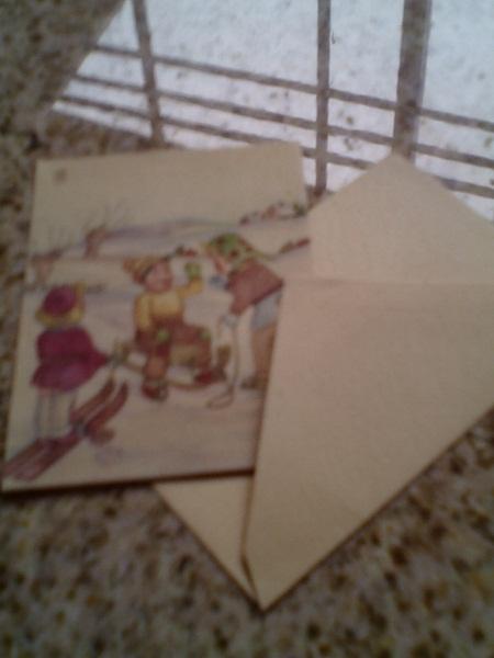 Postkarten für Kinder, uralt