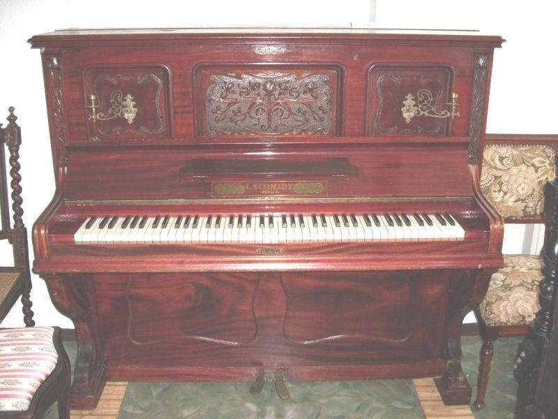 Gründerzeit-Klavier
