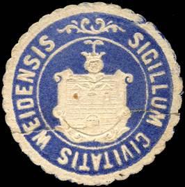 Sigillum Civitatis Weidensis