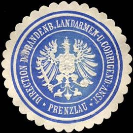 Direction der Brandenburgischen Landarmen - und Corrigend. Anstalt - Prenzlau