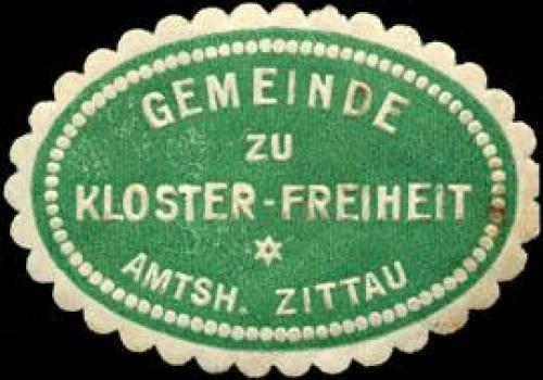 Gemeinde zur Kloster - Freiheit - Amtsh. Zittau