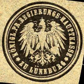 Königliche Preussische Regierungs - Hauptkasse zu Lüneburg
