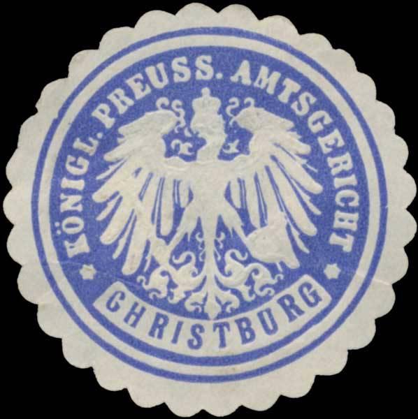 K.Pr. Amtsgericht Christburg