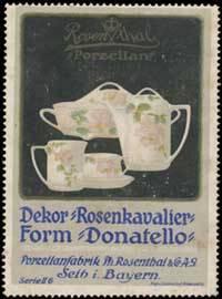 Rosenthal Porzellan Dekor Rosenkavalier