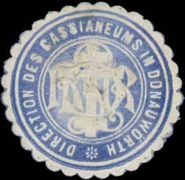 Direction des Cassianeums in Donauwörth