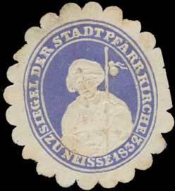 Siegel der Stadtpfarrkirche Neiße