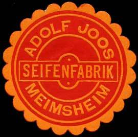 Seifenfabrik Adolf Joos - Meimsheim