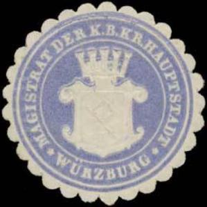 Magistrat der K.B. Kr. Hauptstadt Würzburg