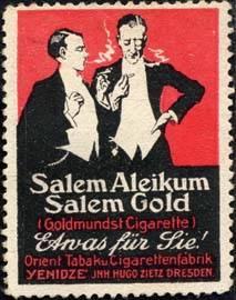Salem Aleikum - Salem Gold - Etwas für Sie !